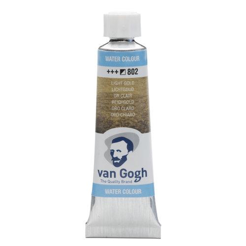 van Gogh Van Gogh Aquarelverf Tube 10 ml Lichtgoud 802
