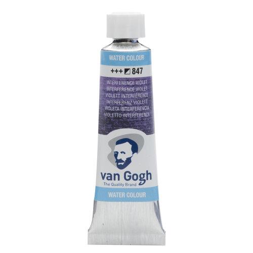 van Gogh Van Gogh Aquarelverf Tube 10 ml Interference Violet 847