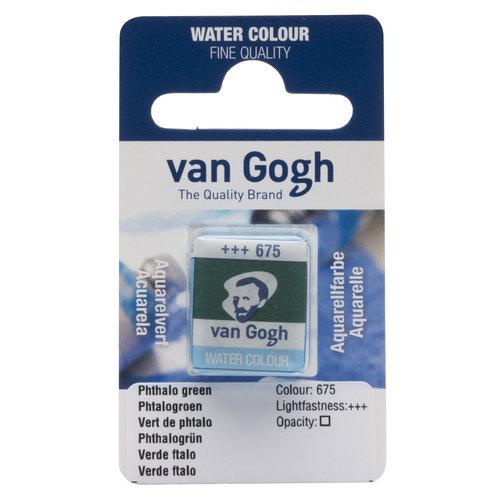 van Gogh Van Gogh Aquarelverf Napje Phtalogroen 675