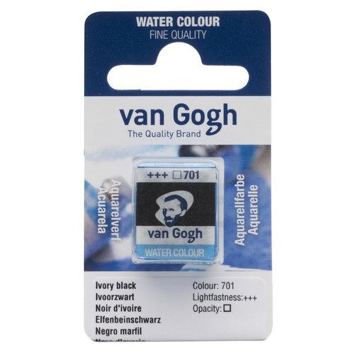 van Gogh Van Gogh Aquarelverf Napje Ivoorzwart 701