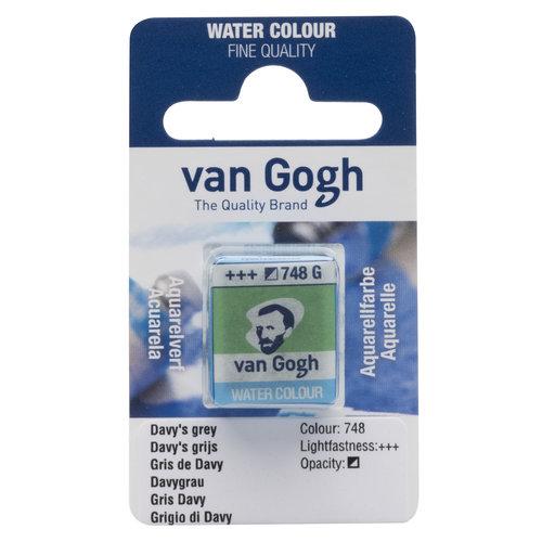 van Gogh Van Gogh Aquarelverf Napje Davy'S Grijs 748