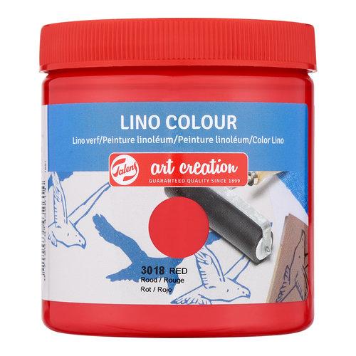 Art Creation Talens Art Creation Lino Colour 250 ml Rood 3018