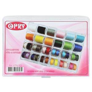 Opry Opry Spoelendoos voor 24 spoelen 18 x 13 x 2,5 cm
