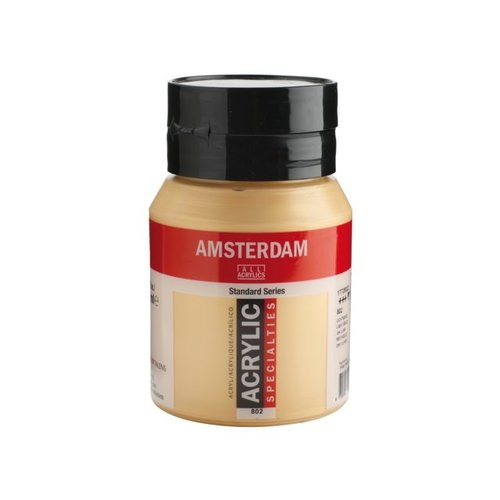 Amsterdam  Amsterdam Acrylverf 500 ml Lichtgoud 802