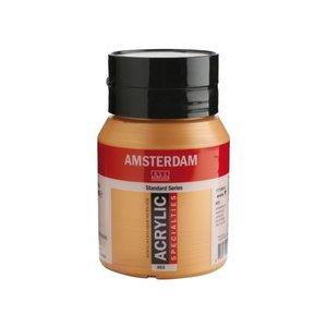 Amsterdam Amsterdam Acrylverf 500 ml Donkergoud 803