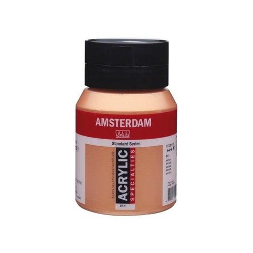 Amsterdam Amsterdam Acrylverf 500 ml Brons 811