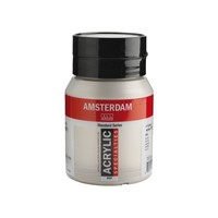 Amsterdam Acrylverf 500 ml Zilver 800