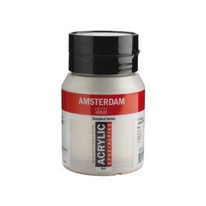 Amsterdam Amsterdam Acrylverf 500 ml Zilver 800