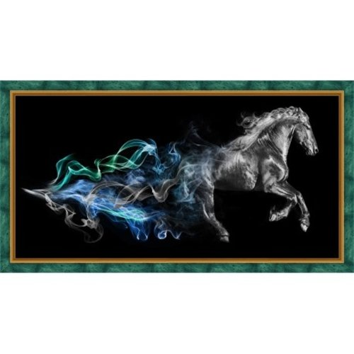 Artibalta Diamond Painting Horse in the Smoke AZ-1828