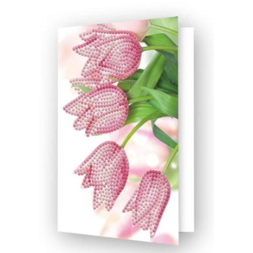 Diamond Dotz Diamond Dotz Kaart Tulpen
