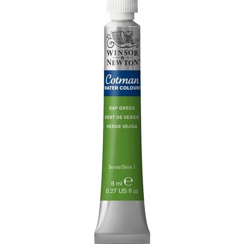 Winsor & Newton W&N Cotman Aquarelverf 8 ml Sap Groen