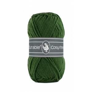 Durable Durable Cosy Fine 50 gram  Forest green 2150