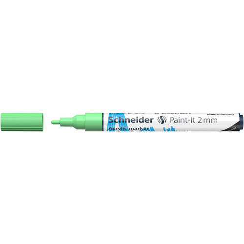 Schneider Acrylverf Stift Schneider Paint-it 310 Pastel Groen