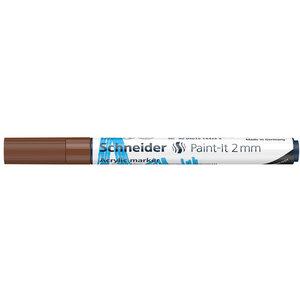 Schneider Acrylverf Stift Schneider Paint-it 310 Bruin