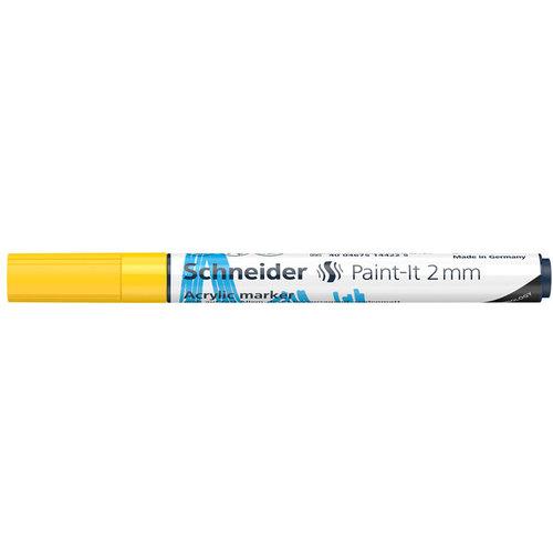 Schneider Acrylverf Stift Schneider Paint-it 310 Geel