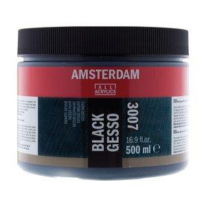 Amsterdam Amsterdam gesso zwart 500 ml 3007