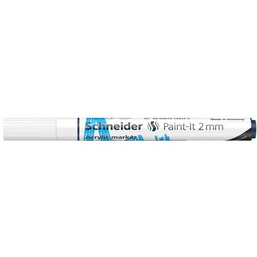 Schneider Acrylverf Stift Schneider Paint-it 310 Wit