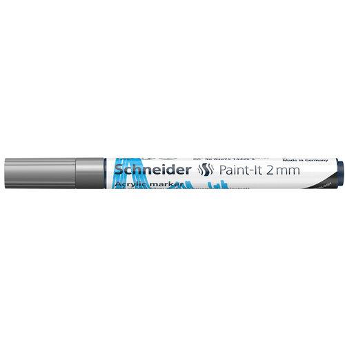 Schneider Acrylverf Stift Schneider Paint-it 310 Zilver