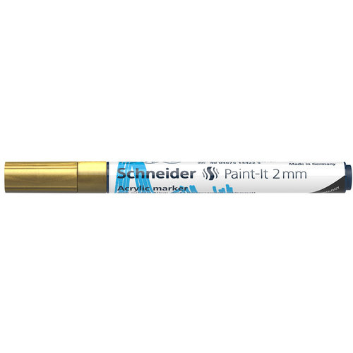 Schneider Acrylverf Stift Schneider Paint-it 310 Goud