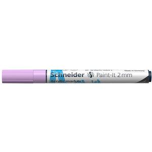 Schneider Acrylverf Stift Schneider Paint-it 310 Pastel Lila
