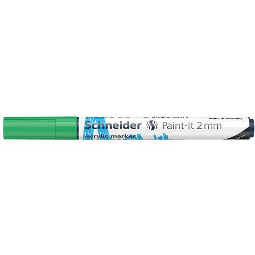 Schneider Acrylverf Stift Schneider Paint-it 310 Groen
