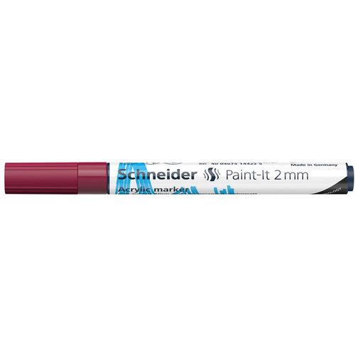 Schneider Acrylverf Stift Schneider Paint-it 310 Bordeaux