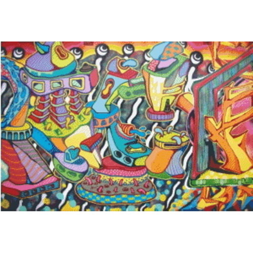 PixelHobby Pixelhobby Patroon 5618 Graffiti Art