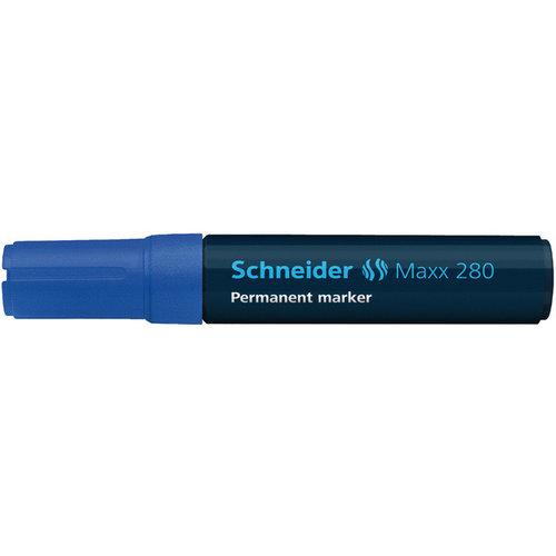 Schneider Marker Schneider Maxx 280 permanent beitelpunt blauw