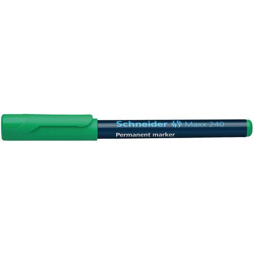 Schneider marker Schneider Maxx 240 permanent ronde punt groen