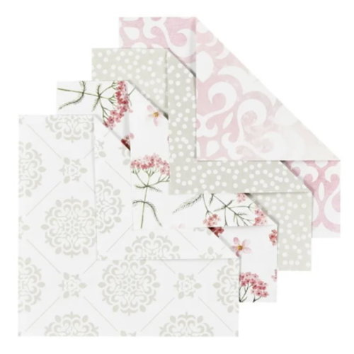 Origamipapier 10 x10 cm 80 gram 40 vellen