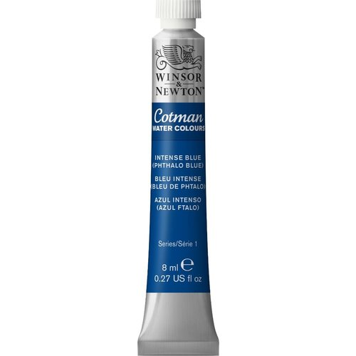 Winsor & Newton W&N Cotman Aquarelverf 8 ml Intense Blue