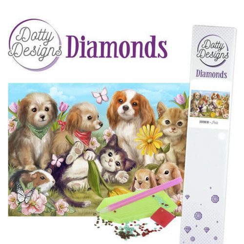 Dotty Designs   Dotty Design Diamond Painting Dieren