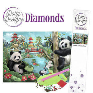 Dotty Designs   Dotty Design Diamond Painting Panda Beren