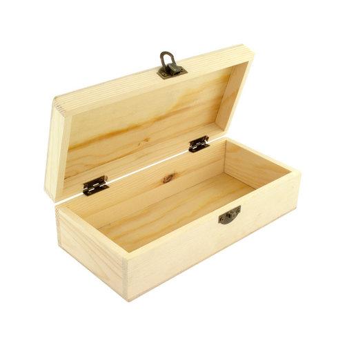 Kangaro Hobbybox beukenhout Kangaro ongelakt, 21x10x6,2cm