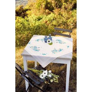 Vervaco Vervaco Borduurpakket Tafelkleed Grassen en Libbelles 0021435