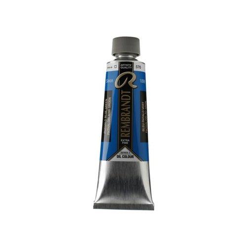 Rembrandt Rembrandt Olieverf 150 ml Tube Phtaloblauw groenachtig 576