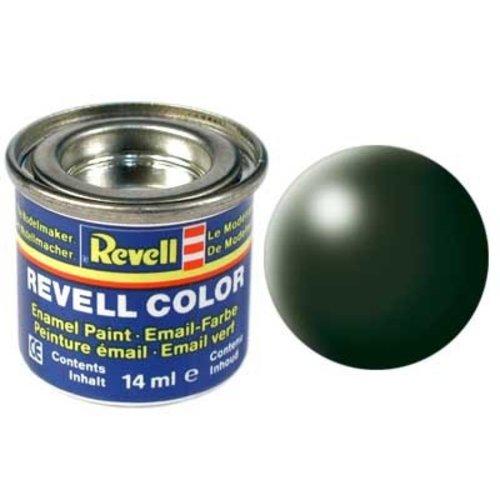 Revell Revell Email Verf 14 ml nr 363 Donkergroen Zijdemat