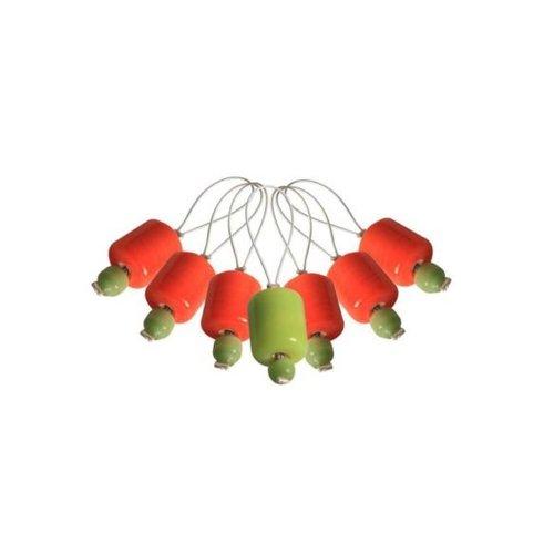Knitpro Knitpro Stekenmarkeerders 7 stuks oranje Lily