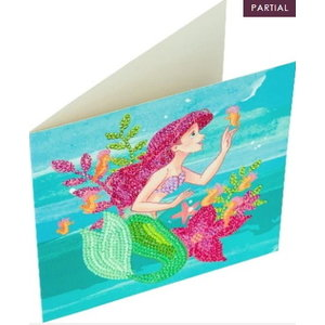 Crystal Art Crystal Art  Kaart diamond Painting Ariel