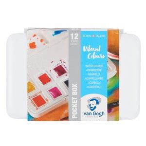 van Gogh Van Gogh Aquarelverf Pocketbox 12 Napjes Heldere Kleuren