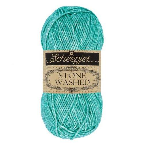 Scheepjeswol Scheepjes Stone Washed 50 gr - 815 Green Agate