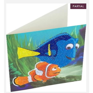 Crystal Art Crystal Art Diamond Painting Kaart Dory en Nemo