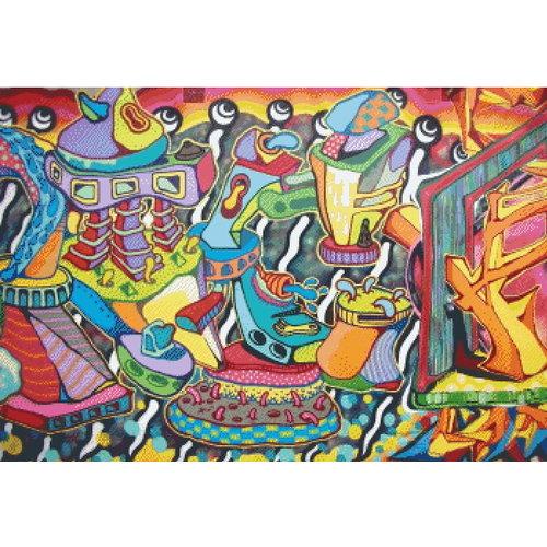 PixelHobby Pixelhobby Patroon 5624 Street Art Graffiti