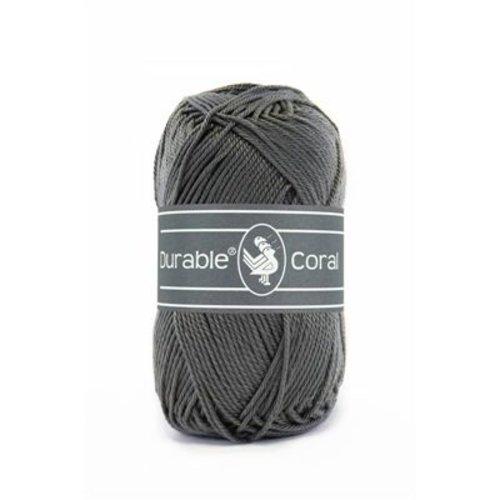 Durable Durable Coral Katoen 50 gram Charcoal 2236