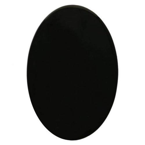 Dierenoogjes veiligheidsoogjes zwart ovaal per stuk