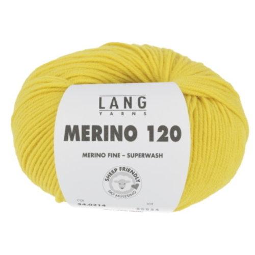 Lang Yarns Lang Yarns Merino 120 Superwash 50 gram nr 214