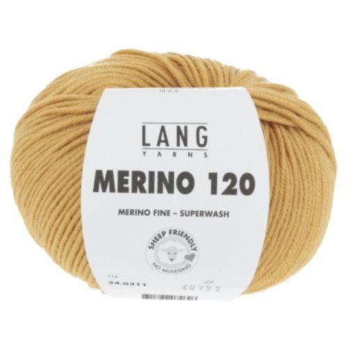 Lang Yarns Lang Yarns Merino 120 Superwash 50 gram nr 311