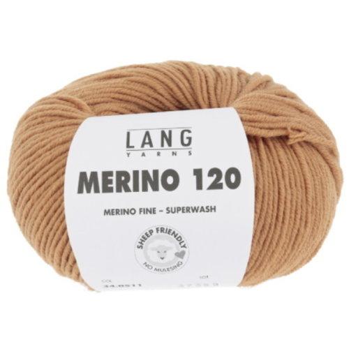 Lang Yarns Lang Yarns Merino 120 Superwash 50 gram nr 511