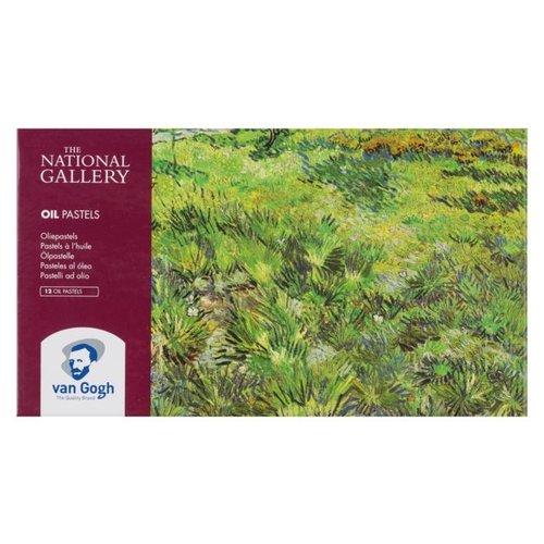 van Gogh Van Gogh Oliepastel Starterset 12 Pastels - National Gallery