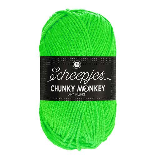 Scheepjeswol Scheepjes Chunky Monkey 100 gram 1259 Neon Green